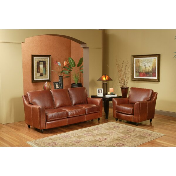 Omnia Leather Great Texas Configurable Living Room Set Reviews