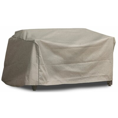 Freeport Park Aadhya Outdoor Loveseat Cover Size: 26 H x 50 W x 29 D