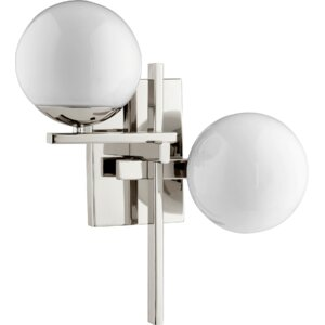 Atom 2-Light Wall Sconce