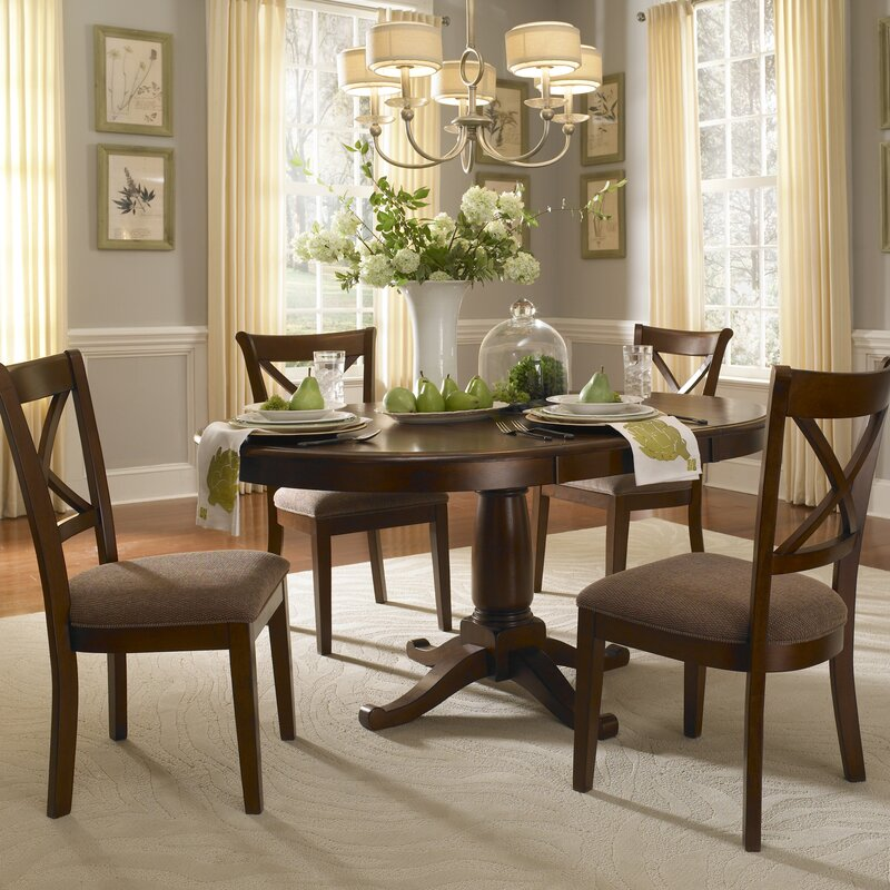 Extending Dining Room Table darby home co kiantone extendable dining table & reviews | wayfair
