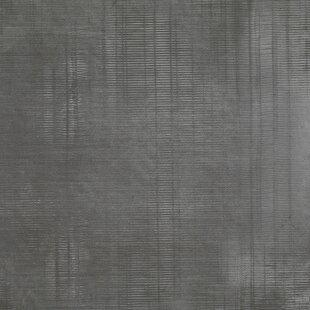 Organic Rectified 12 X 24 Procelain Field Tile In Dark Gray