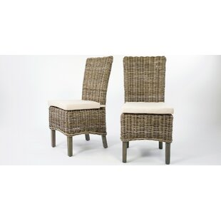 Ondina Dining Chair with Cushion (Set of 2) by Beachcrest Home