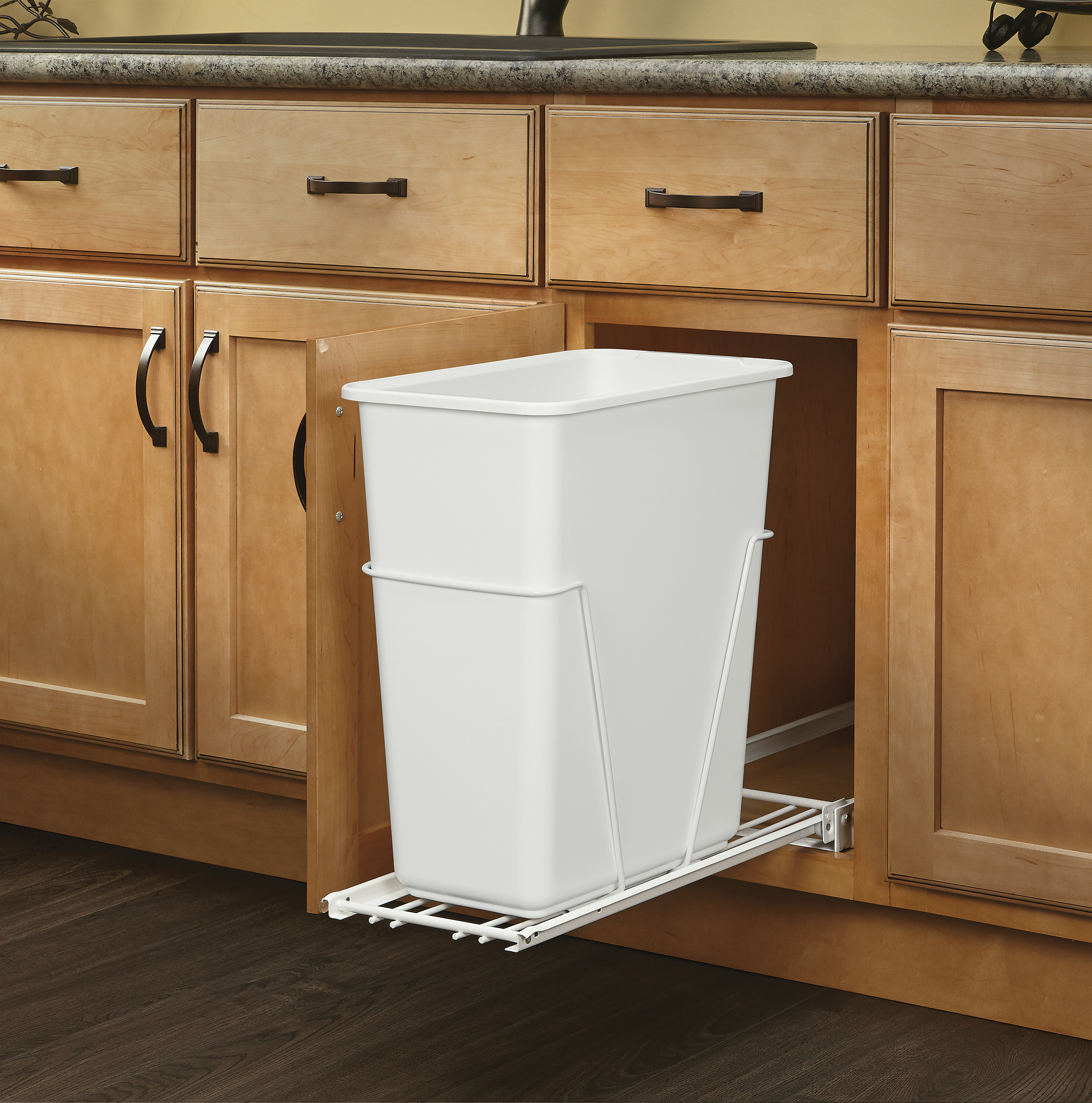 Superieur Rev A Shelf 7.5 Gallon Pull Out/Under Counter Trash Can U0026 Reviews | Wayfair