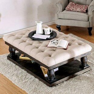 Delightful Blackfriars Coffee Table With Cushion Top