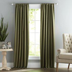 Modern & Contemporary Emerald Green Curtains   AllModern