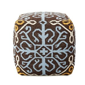 Oconnor Kilim Pouf by Red Barrel Studio
