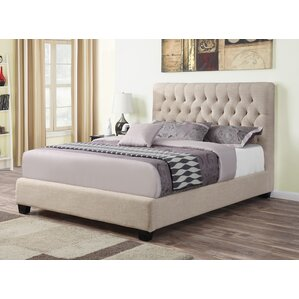 Upholstered Panel Bed by Wildon Home ?