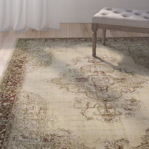Blue Hill Vintage Brown Area Rug