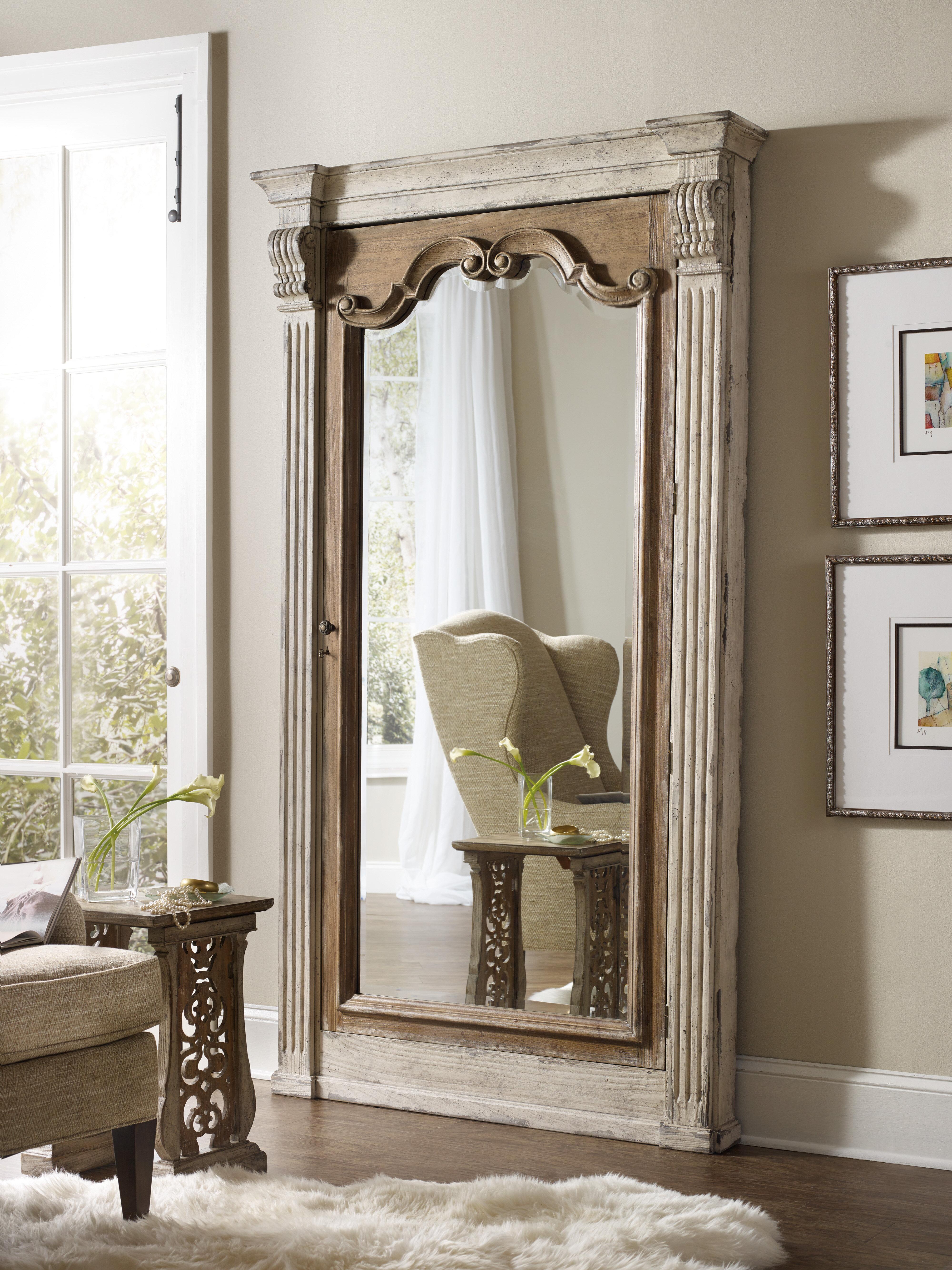 White Floor Mirror. White Floor Mirror F - Linkedlifes.com