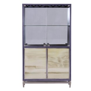 Renate Mirrored Home Bar Cabinet