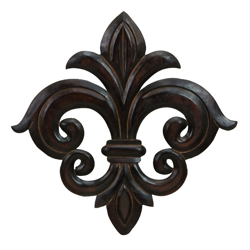 Good Wood Fleur De Lis Wall Decor