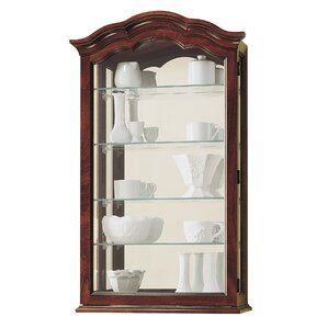 Vancouver II Wall-Mounted Curio Cabinet by Howard Miller?