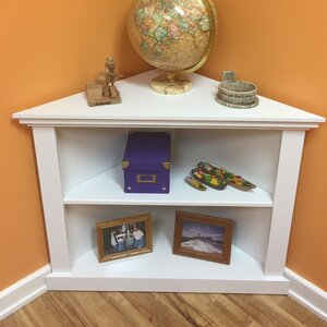Kerr 3-Sided Corner Unit Bookcase