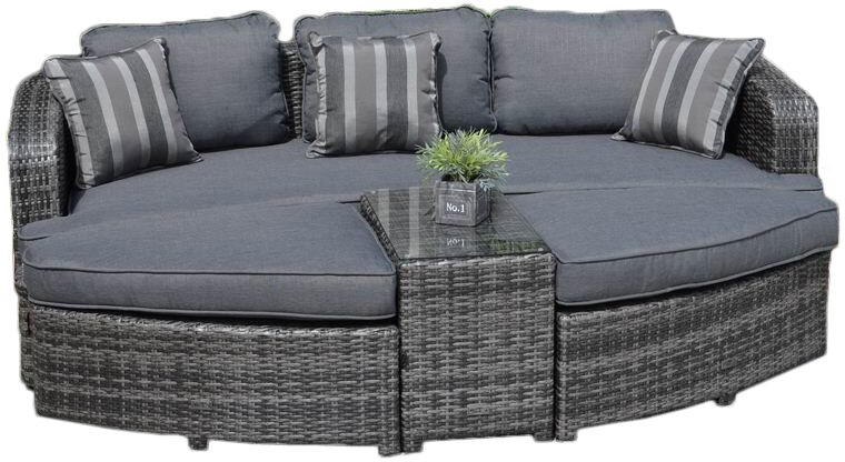 4 Piece Daytona Daybed Patio Seating Group