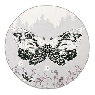 Kiitaja Grey Rug by Vallila