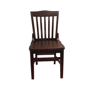 schoolhouse solid wood dining chair