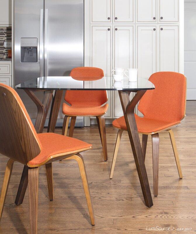 thornton mid century modern dining table reviews allmodern. Black Bedroom Furniture Sets. Home Design Ideas