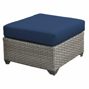 florence ottoman with cushion