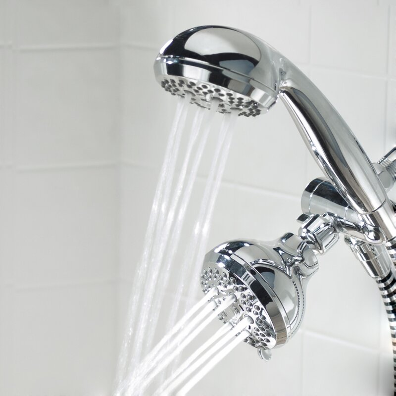 Waxman SimplyClean Shower Head Combo & Reviews | Wayfair