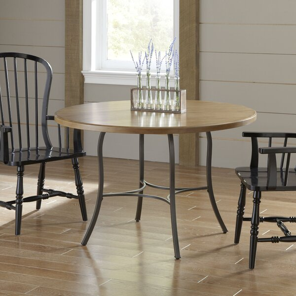 Birch lane scofield round dining table reviews wayfair for Round table 85 ortenau