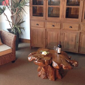 Natural Teak Coffee Table by Chic Teak
