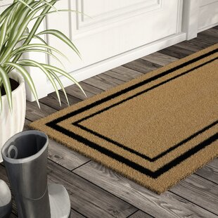 Magner Classic Border Double Door Doormat & Door Mats You\u0027ll Love | Wayfair