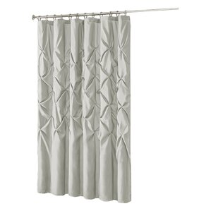 white and silver shower curtain. Ashley Shower Curtain Gray  Silver Curtains Joss Main