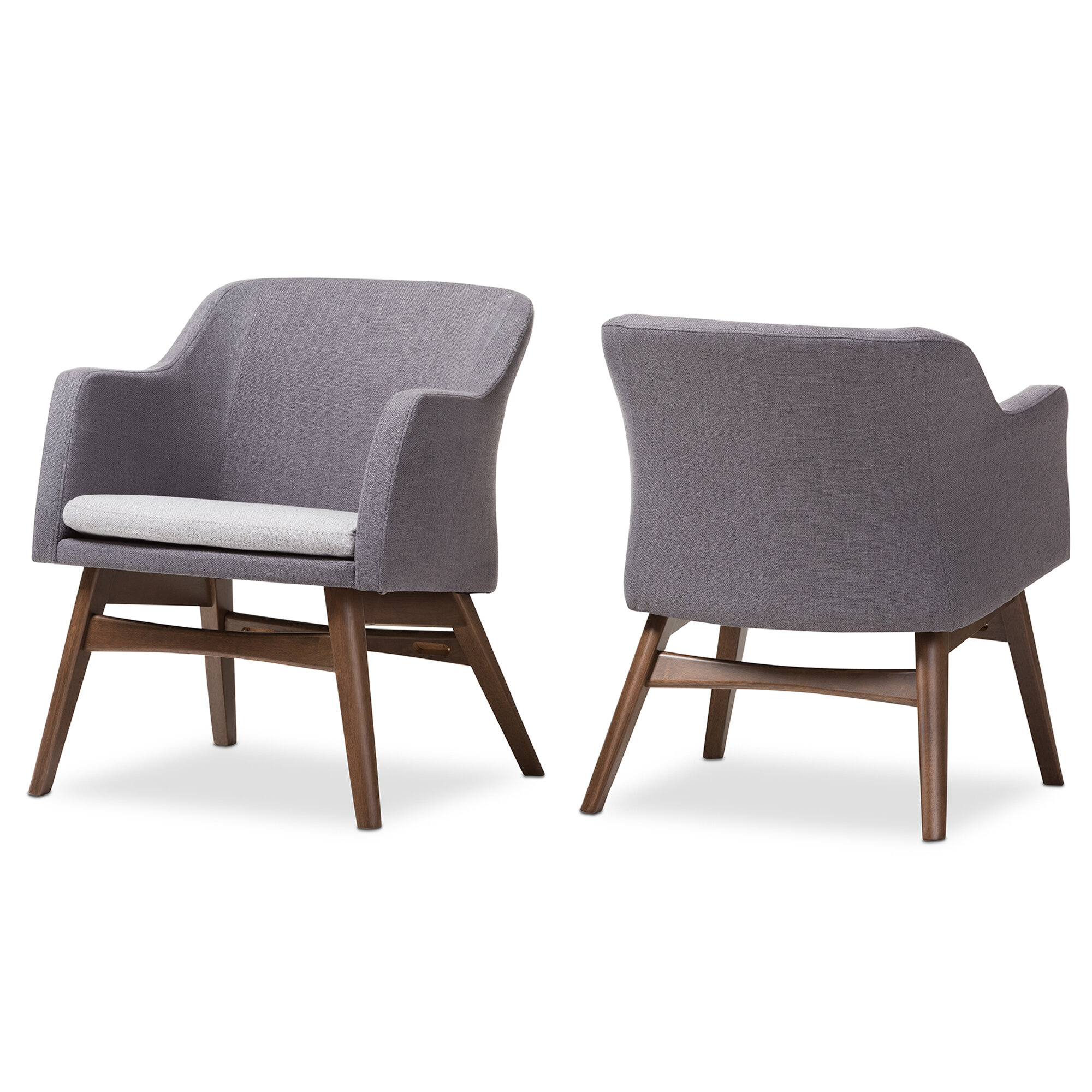 Charmant Wholesale Interiors Victoria Mid Century Modern Fabric Armchair U0026 Reviews |  Wayfair