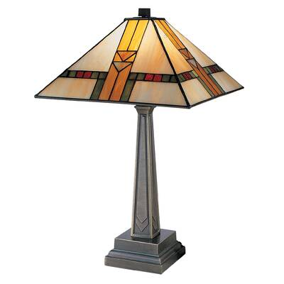 Qspl Aldridge Peacock 22 Table Lamp Wayfair