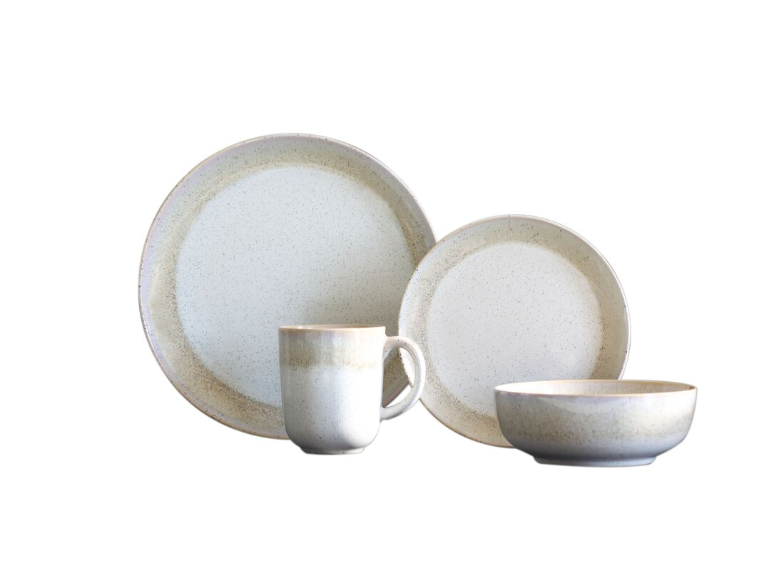Marina 16 Piece Dinnerware Set Service for 4  sc 1 st  Wayfair & Baum Marina 16 Piece Dinnerware Set Service for 4 \u0026 Reviews | Wayfair