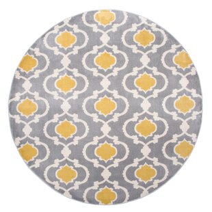 Round Gold Yellow Rugs You Ll Love Wayfair