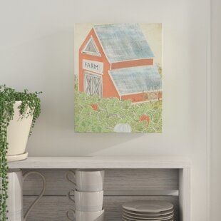 Rustic Barn Painting Print On Wrapped Canvas