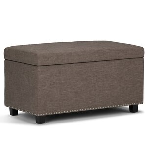 Hannah Upholstered Storage Ottoman