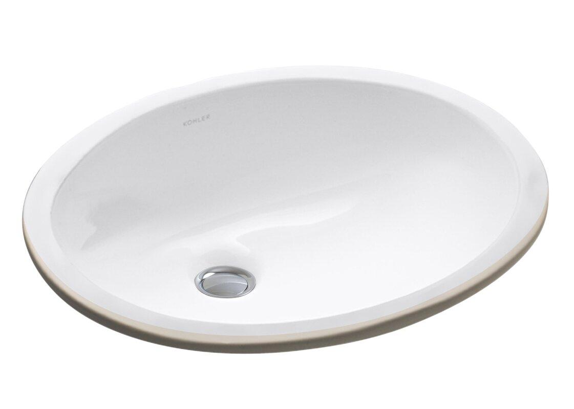 Bathroom sink pics - Caxton Ceramic Oval Undermount Bathroom Sink With Overflow