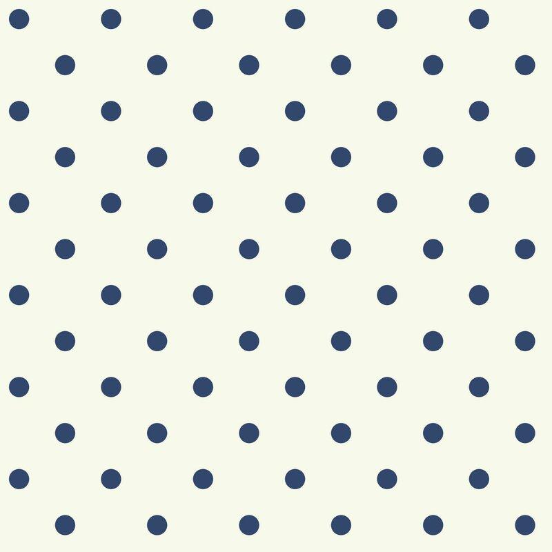 Waverly Kids Circle Sidewall 33 X 20 5 Polka Dot Wallpaper