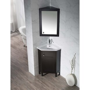 Small Corner Bathroom Vanity Wayfair - Bathroom vanities cincinnati oh