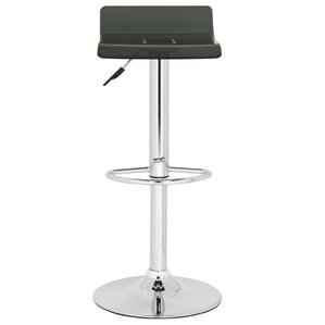 Yance Adjustable Height Swivel Bar Stool by Safavieh