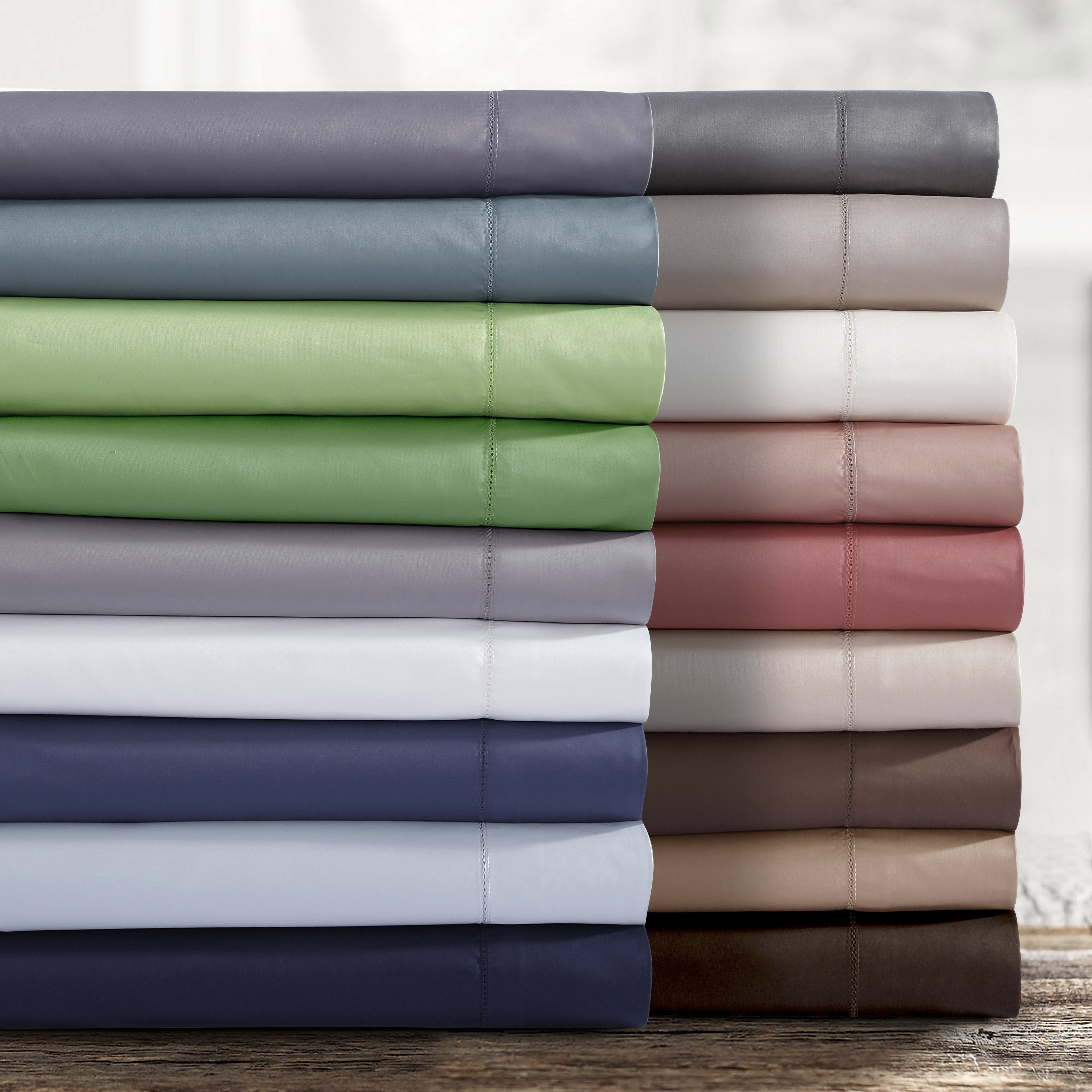Timmothy 750 Thread Count Egyptian Quality Cotton Extra Deep Pocket Sheet Set Reviews Birch Lane