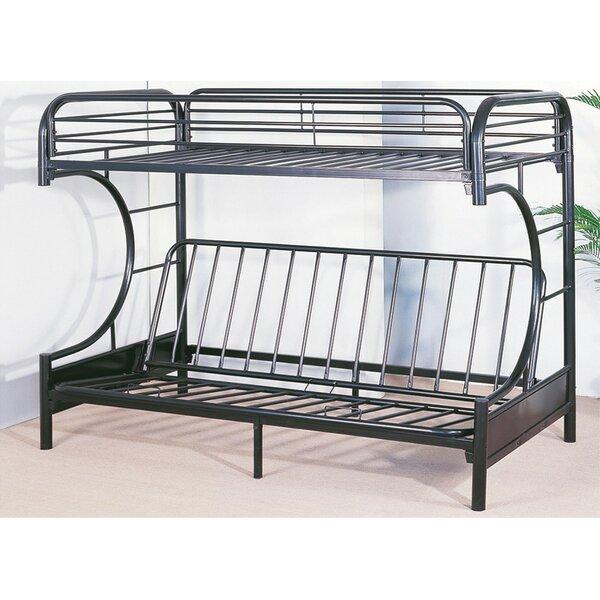 Sensational Swan Metal Twin Over Full Futon Bunk Bed Creativecarmelina Interior Chair Design Creativecarmelinacom