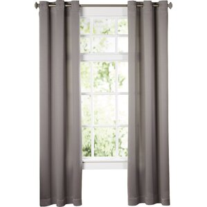 Wayfair Basics Solid Room Darkening Grommet Single Curtain Panel Part 34