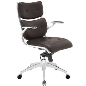 Push Mid-Back Desk Chair