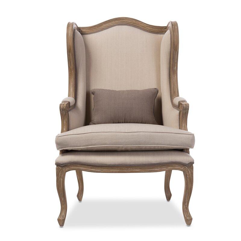 Baxton Studio Wingback Chair