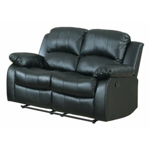 Leather Reclining Sofa by ..
