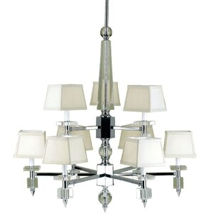 Cluny 9-Light Shaded Chandelier