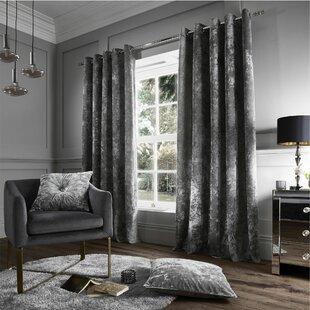 Grey Curtains | Wayfair.co.uk