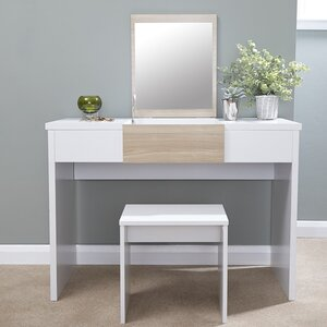 Superb Timon Dressing Table Set With Mirror Great Ideas