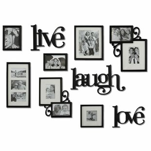 a6835a57f Nedlands 10 Piece Luxury Typography Picture Frame Set