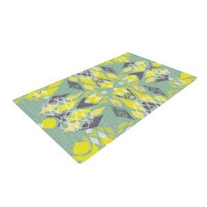 Miranda Mol Joyful Yellow/Teal Area Rug