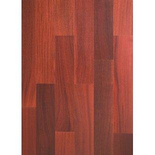 Ashton 5 Solid Teak Hardwood Flooring In Rosewood