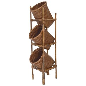 3 Tier Basket On Stand
